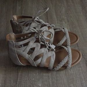 Sonoma Lace Up Sandals Size 8
